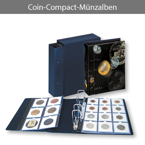 Coin Compact Münzalben